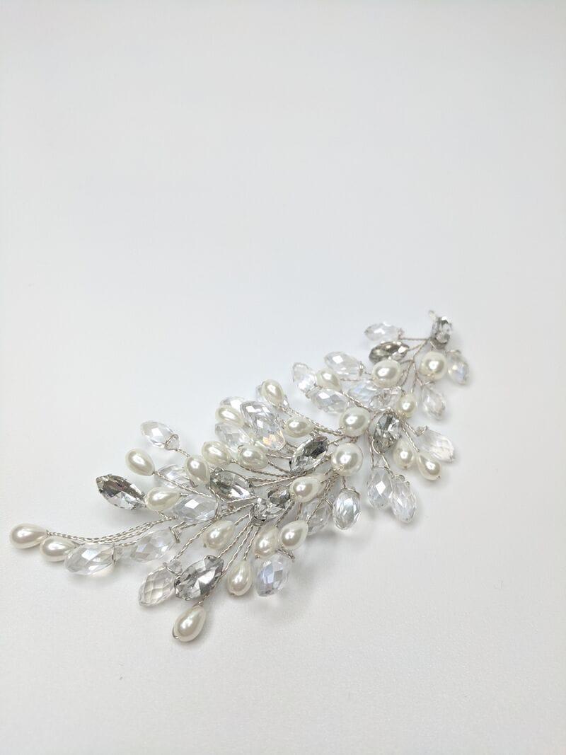 Свадебное украшение для волос веточки, артикул 5654010, фото №3