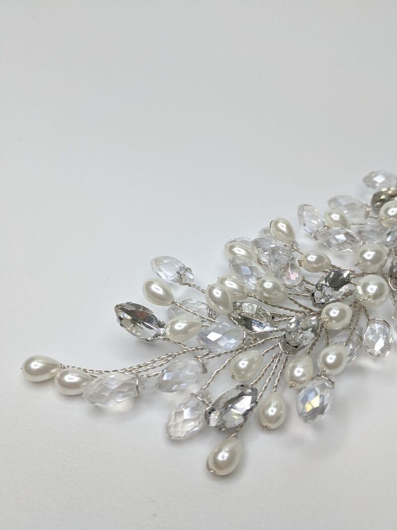 Свадебное украшение для волос веточки, артикул 5654010, фото №5