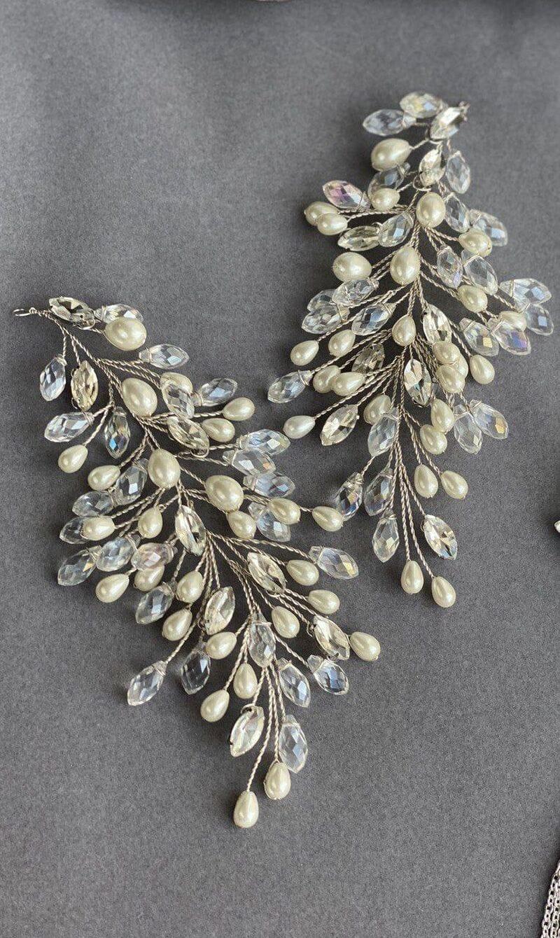 Свадебное украшение для волос веточки, артикул 5654010, фото №6