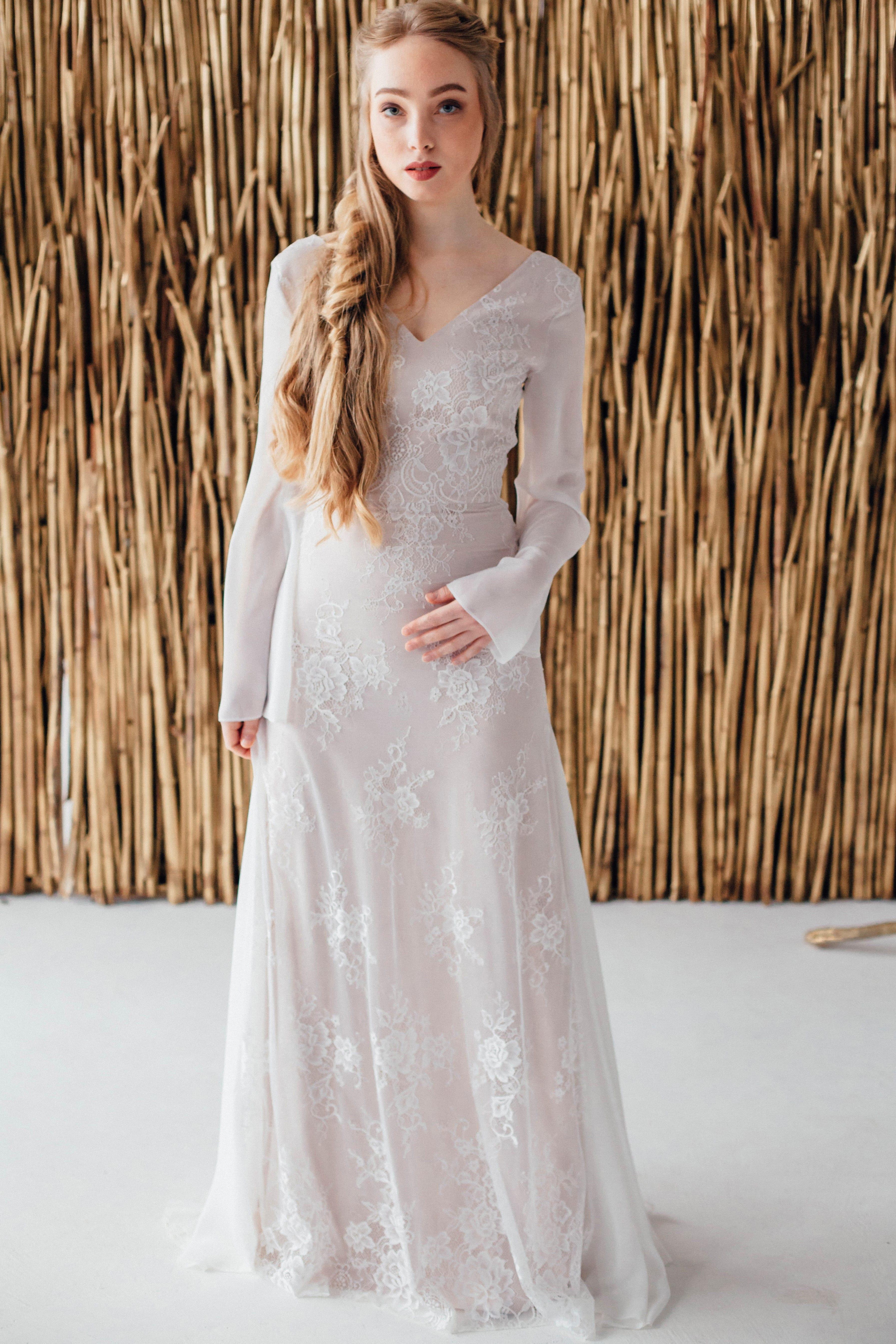 Свадебное платье AELITA, коллекция MAGIC OF TENDERNESS, бренд LORA SONG, фото 1
