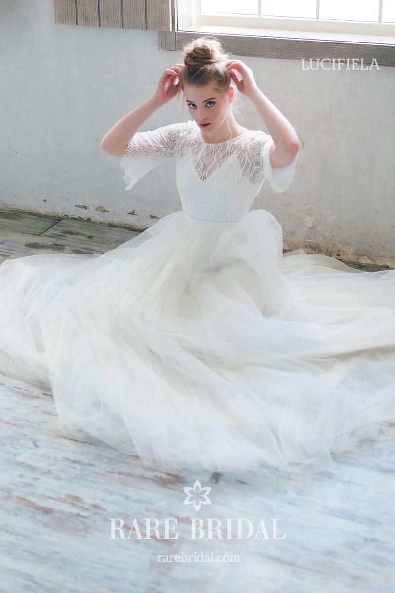 Свадебное платье LUCIFIELA, коллекция THE ANGELS, бренд RARE BRIDAL, фото 1