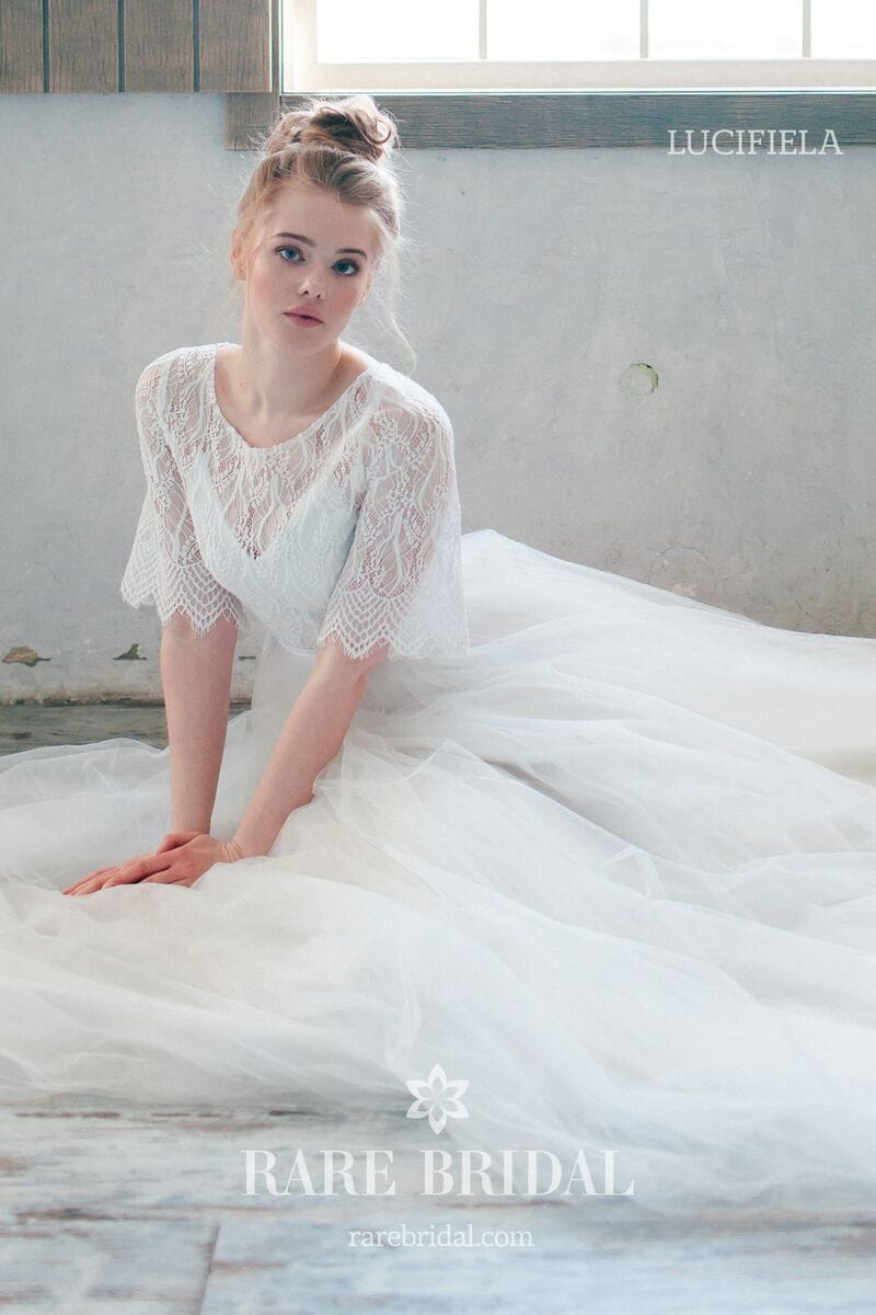 Свадебное платье LUCIFIELA, коллекция THE ANGELS, бренд RARE BRIDAL, фото 2
