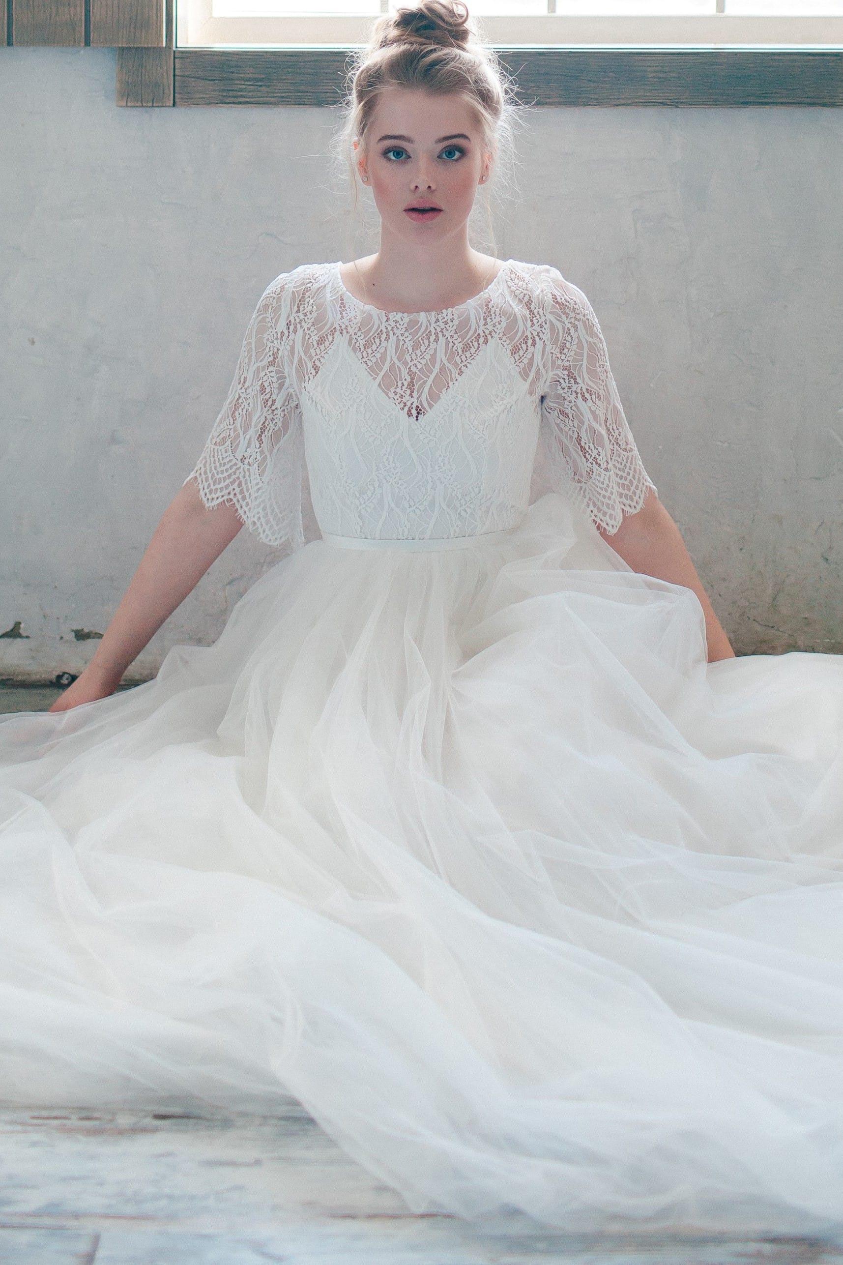 Свадебное платье LUCIFIELA, коллекция THE ANGELS, бренд RARE BRIDAL, фото 3