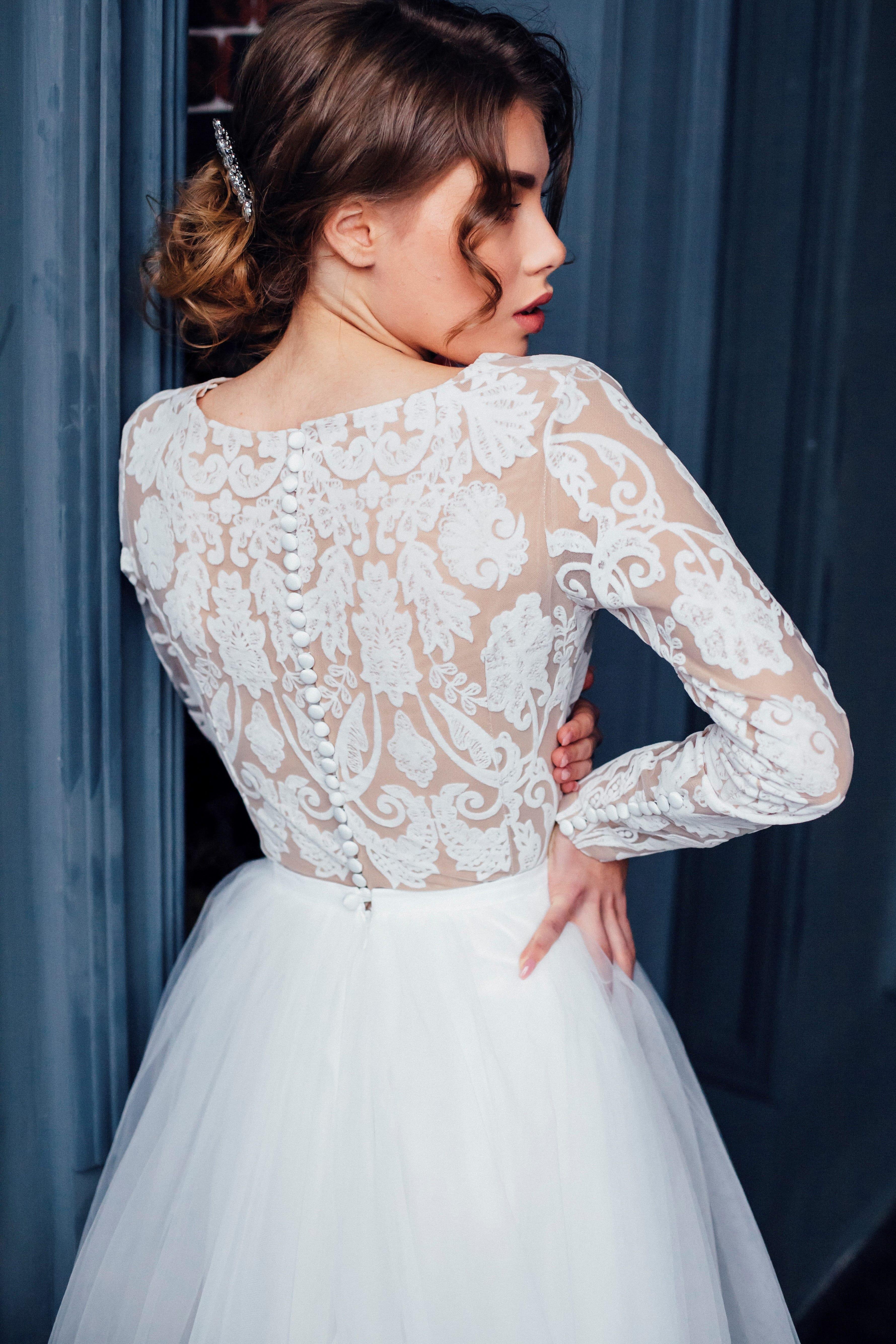 Свадебное платье MARGARET, коллекция THE ABSOLUTE LOVE, бренд RARE BRIDAL, фото 4