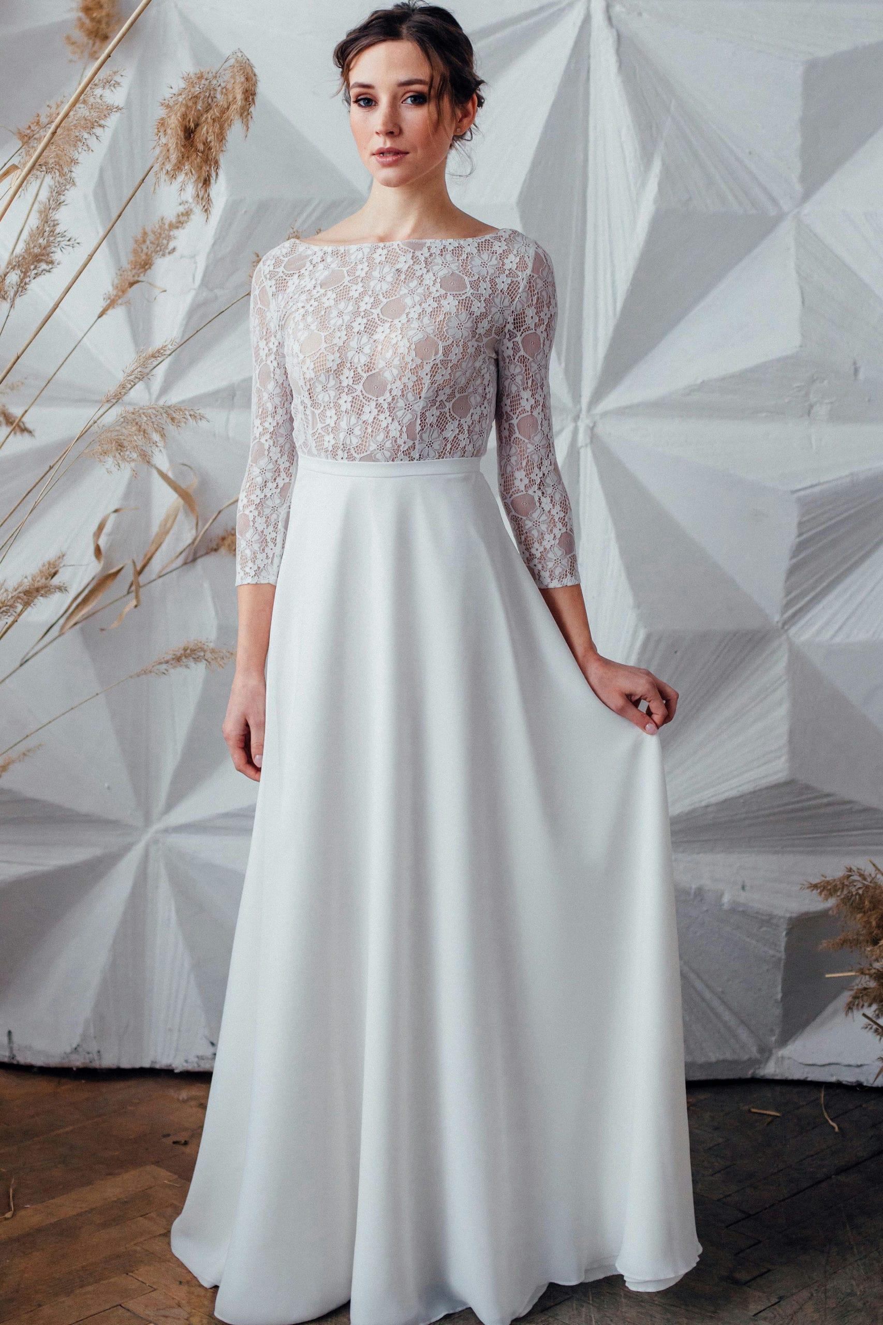 Свадебное платье NOVELLA, коллекция MAGIC OF TENDERNESS, бренд LORA SONG, фото 1