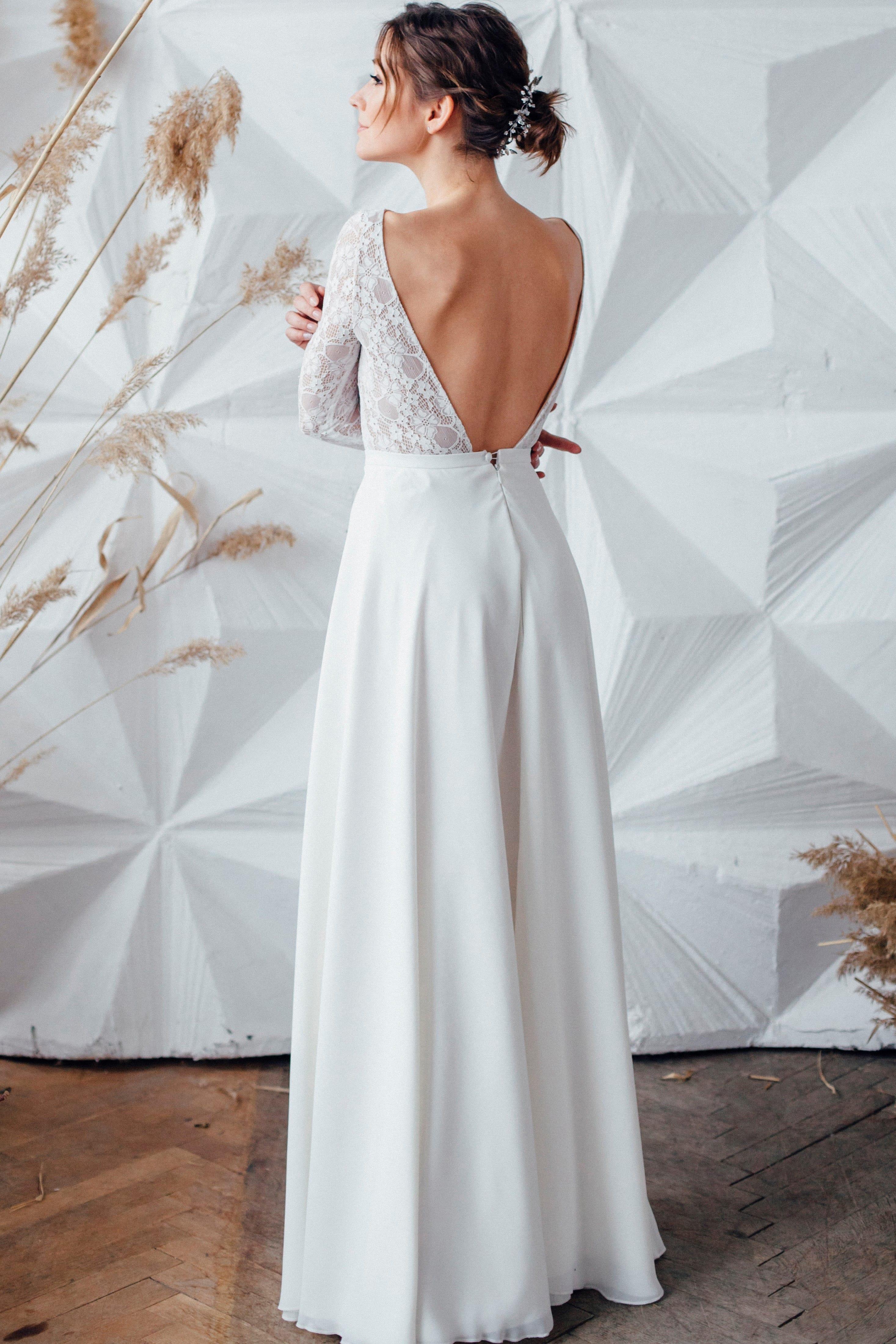Свадебное платье NOVELLA, коллекция MAGIC OF TENDERNESS, бренд LORA SONG, фото 4