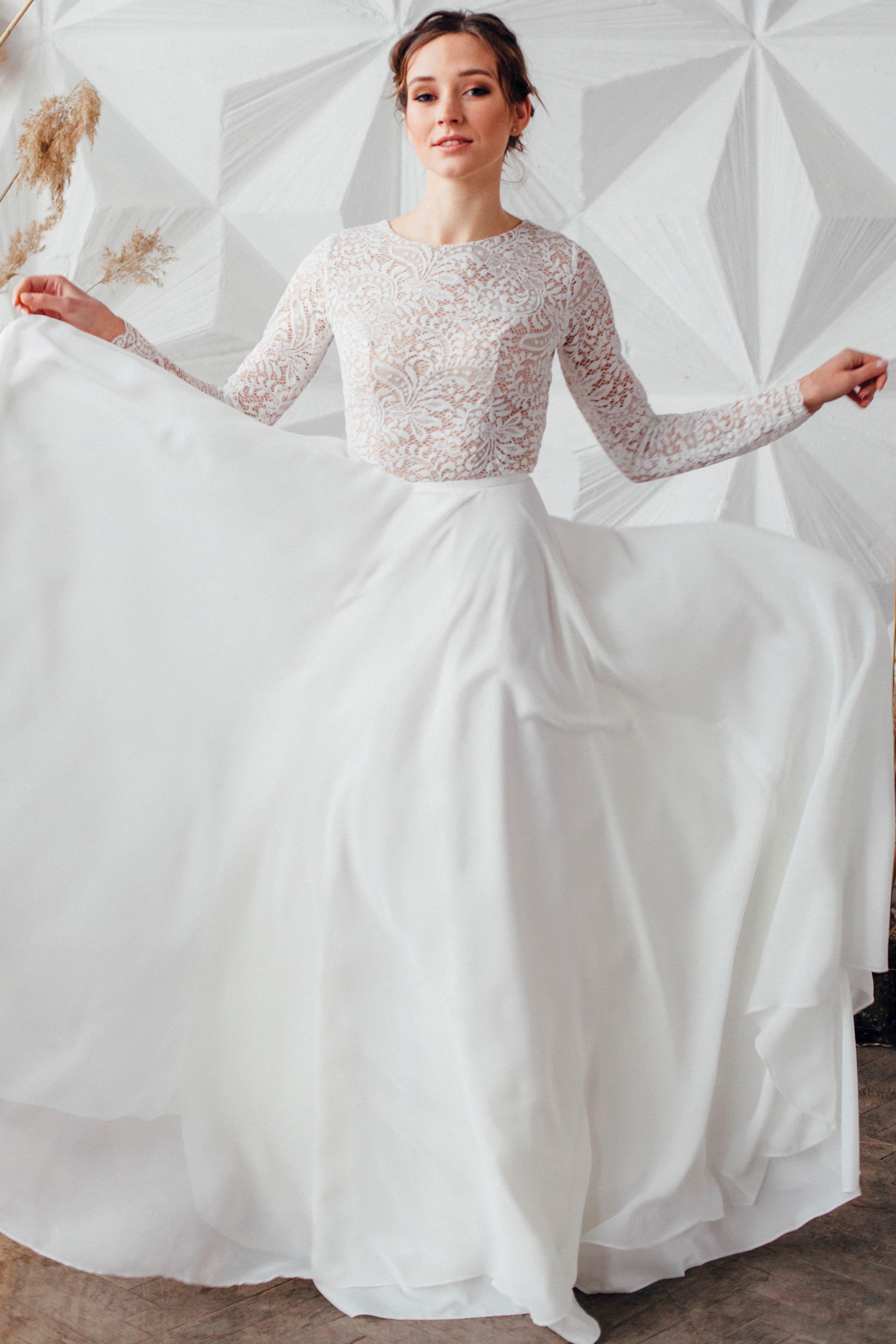 Свадебное платье SYLVIA, коллекция MAGIC OF TENDERNESS, бренд LORA SONG, фото 1