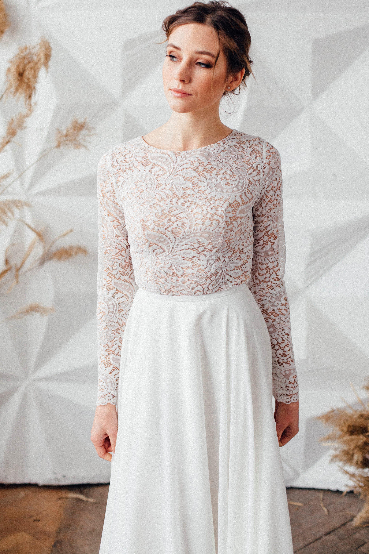 Свадебное платье SYLVIA, коллекция MAGIC OF TENDERNESS, бренд LORA SONG, фото 2