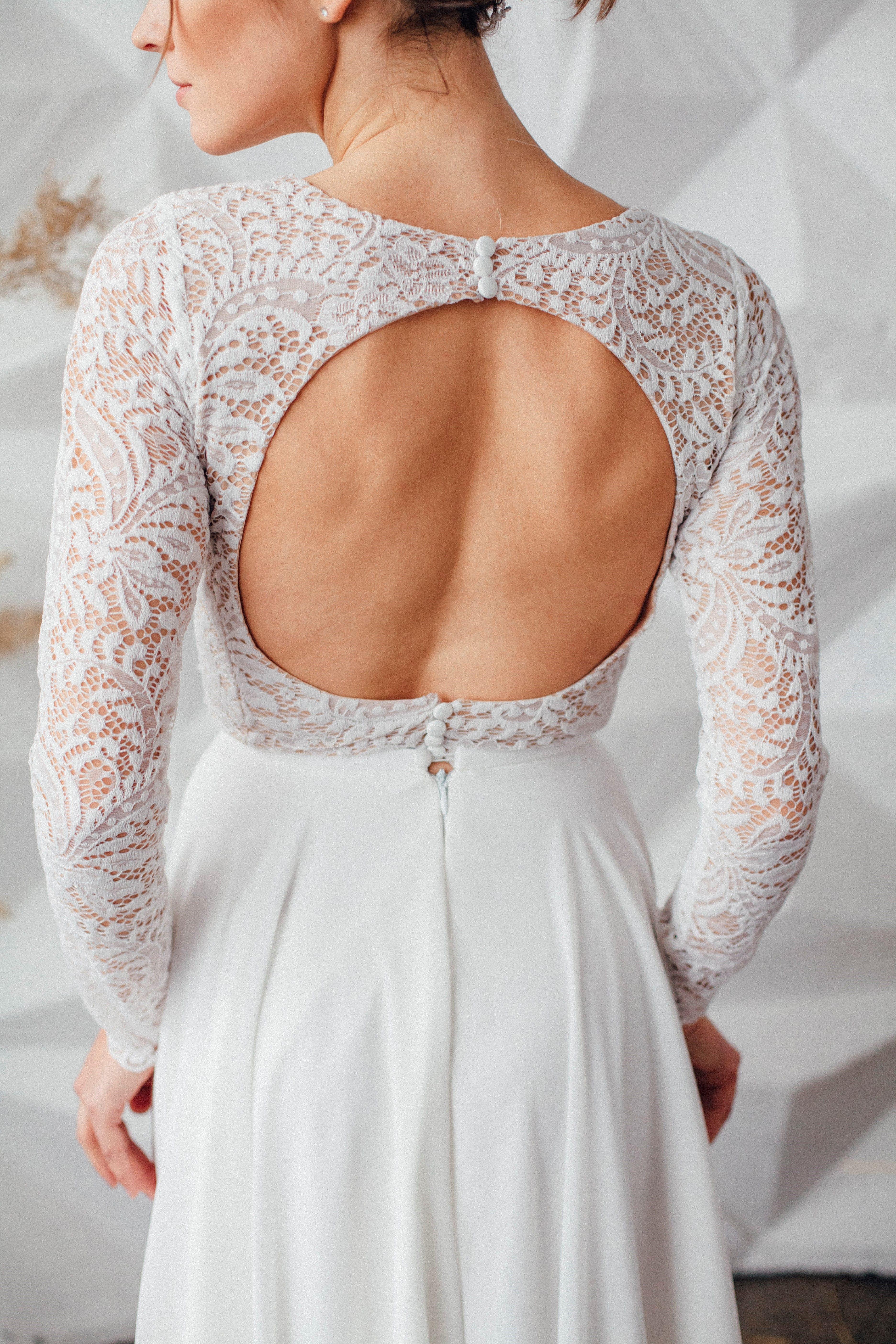 Свадебное платье SYLVIA, коллекция MAGIC OF TENDERNESS, бренд LORA SONG, фото 3