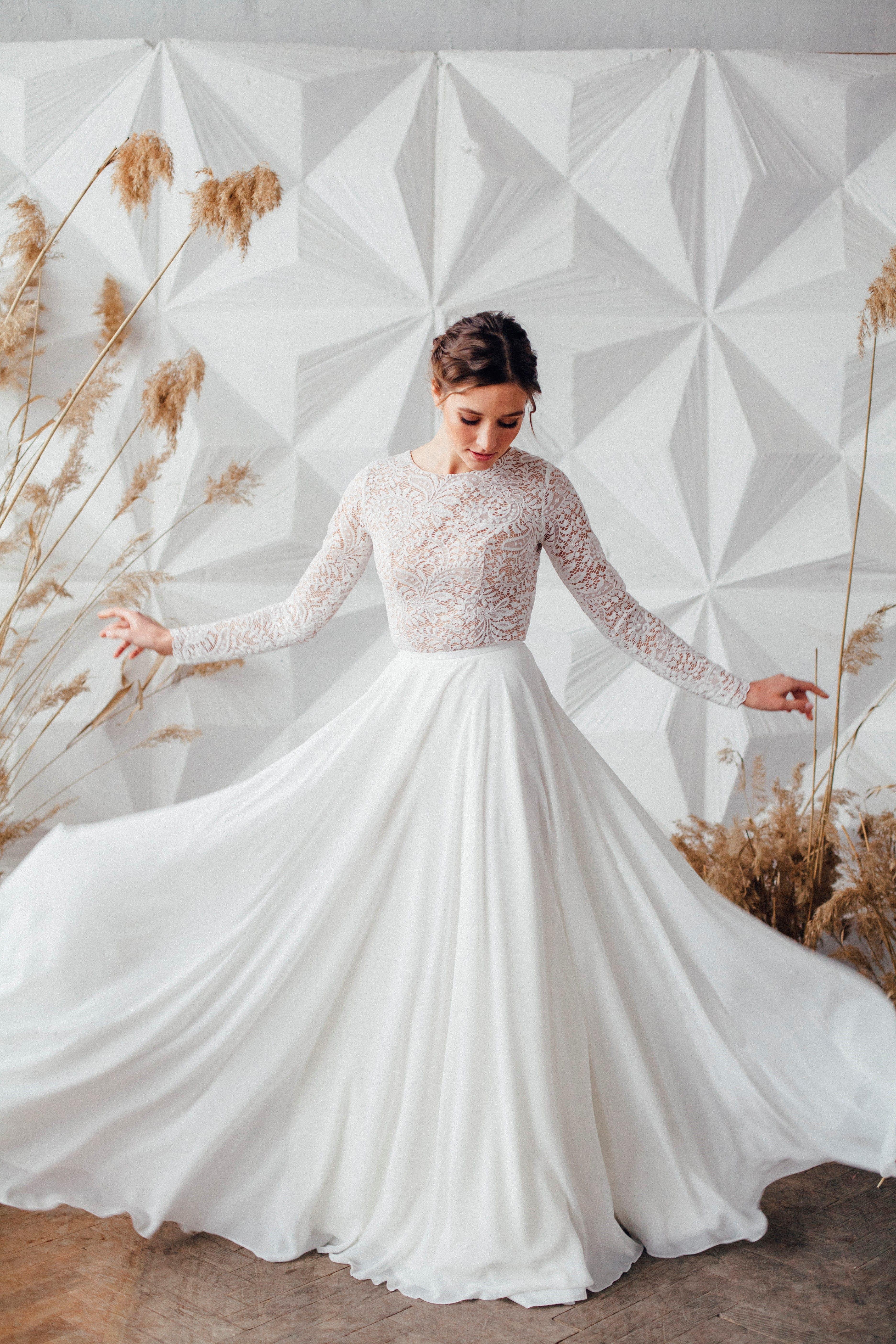 Свадебное платье SYLVIA, коллекция MAGIC OF TENDERNESS, бренд LORA SONG, фото 4