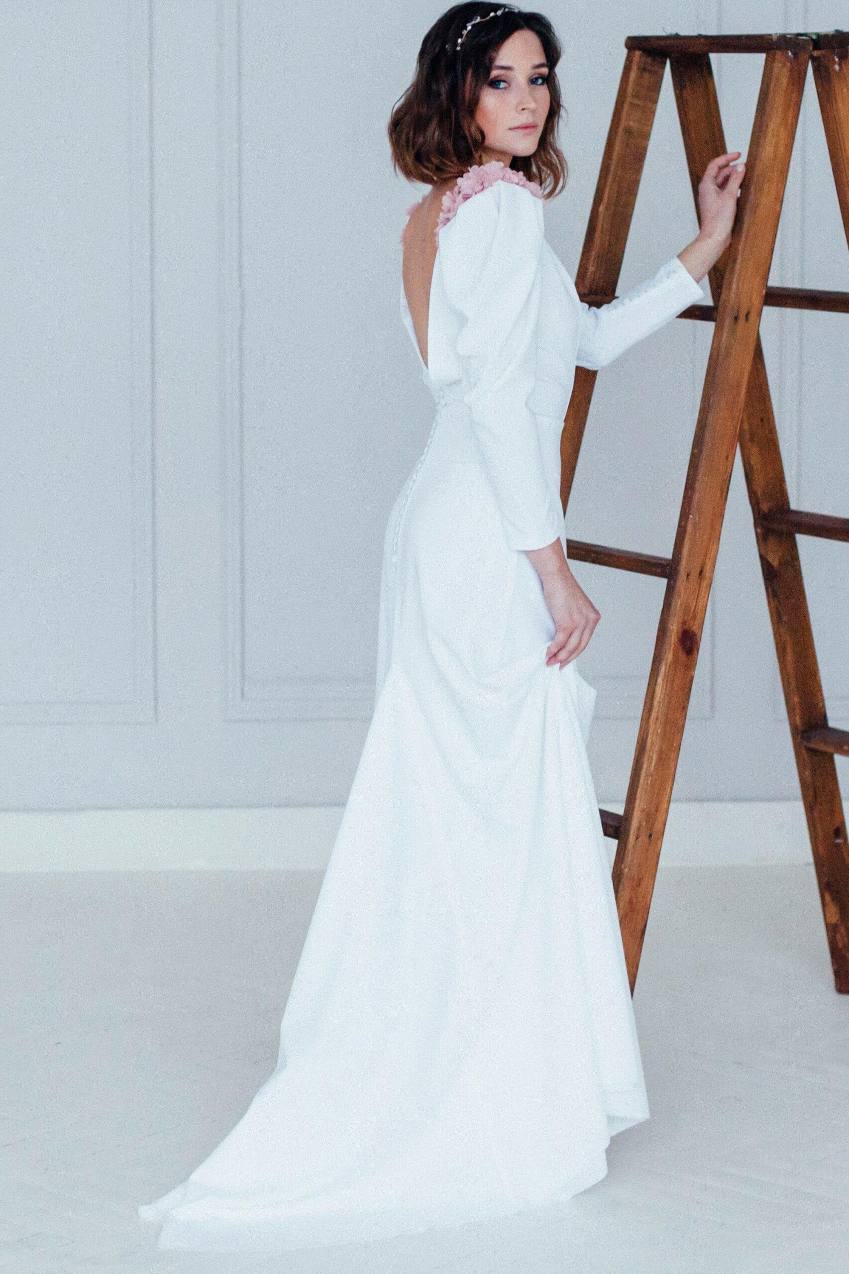 Свадебное платье AKIRA, коллекция REFINED ELEGANCE, бренд OKA NOMO, фото 4