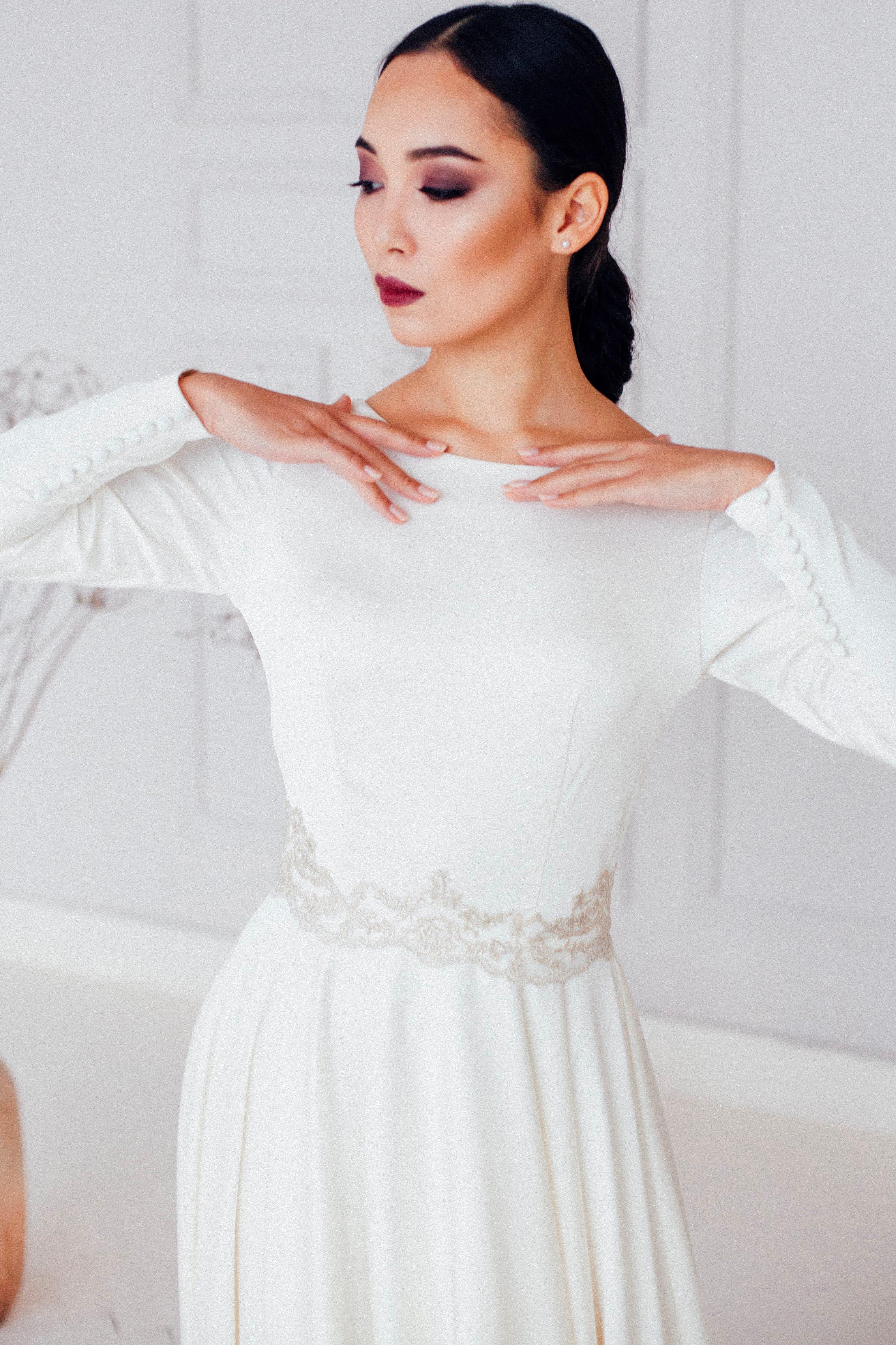 Свадебное платье ASAMI, коллекция REFINED ELEGANCE, бренд OKA NOMO, фото 1