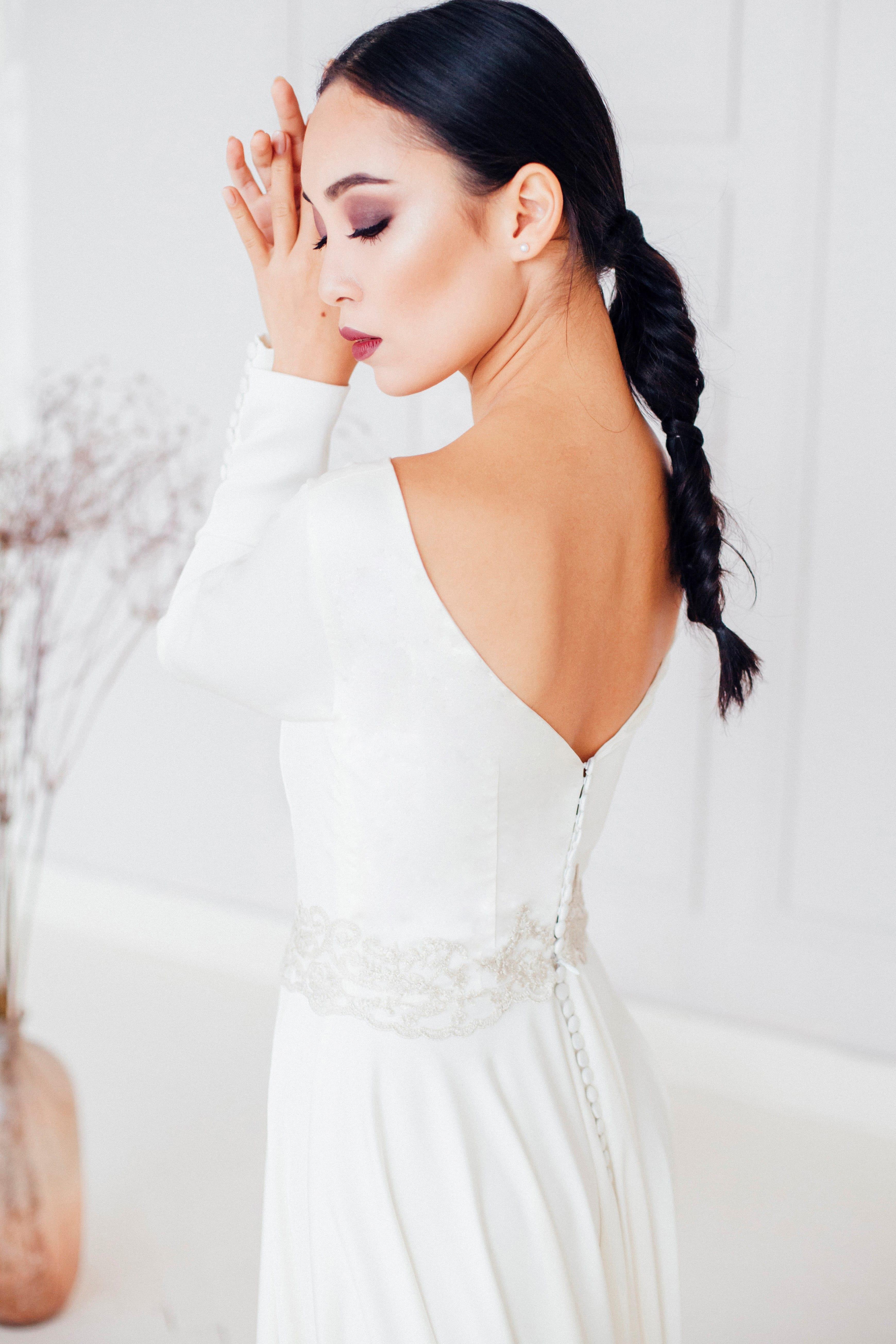 Свадебное платье ASAMI, коллекция REFINED ELEGANCE, бренд OKA NOMO, фото 2