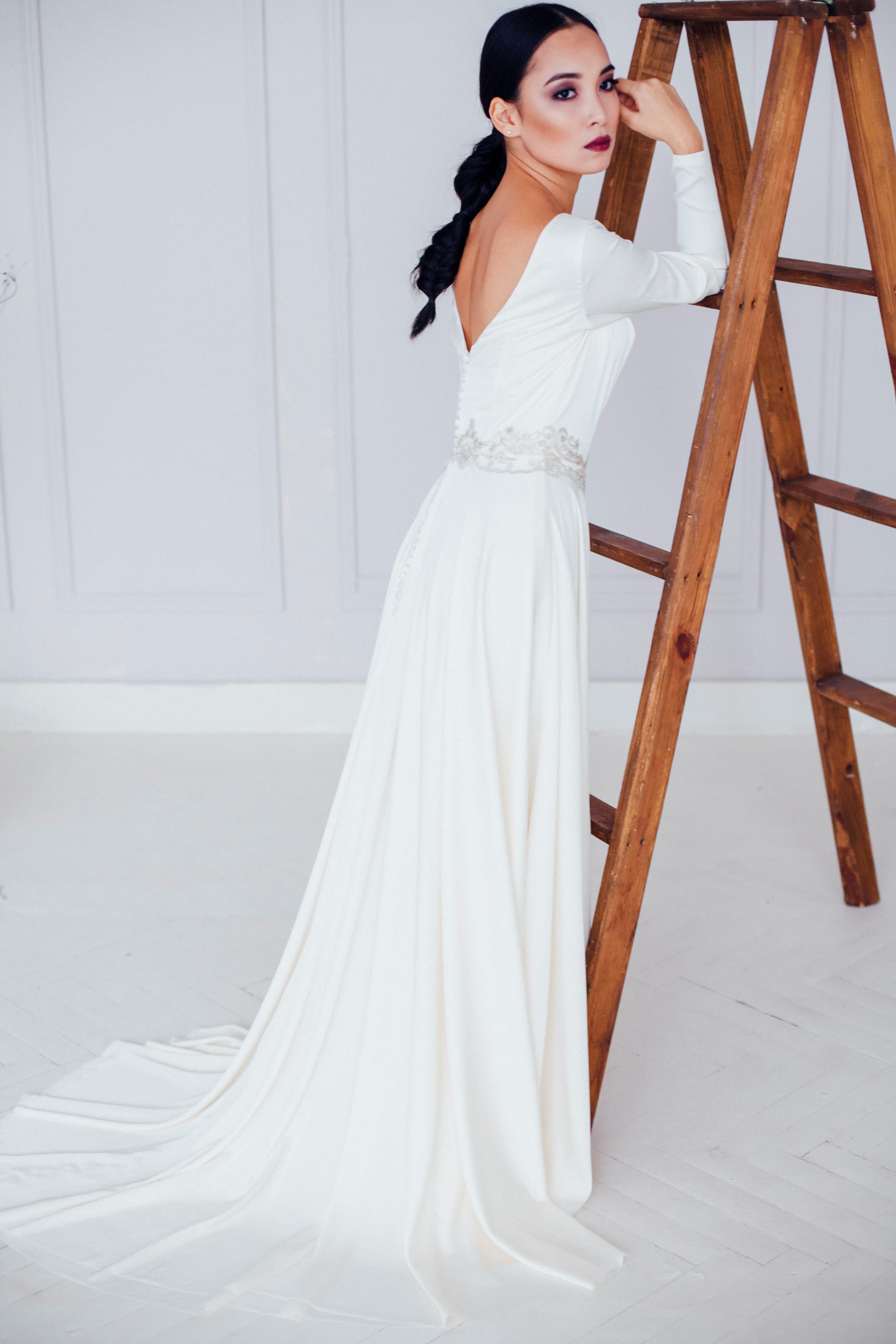 Свадебное платье ASAMI, коллекция REFINED ELEGANCE, бренд OKA NOMO, фото 3