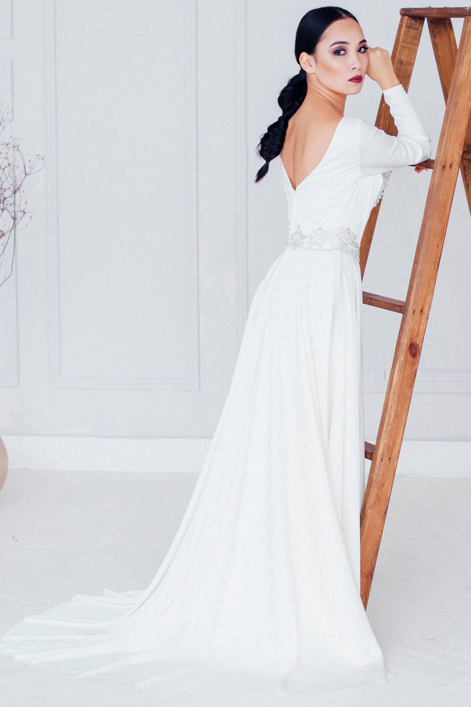 Свадебное платье ASAMI, коллекция REFINED ELEGANCE, бренд OKA NOMO, фото 4