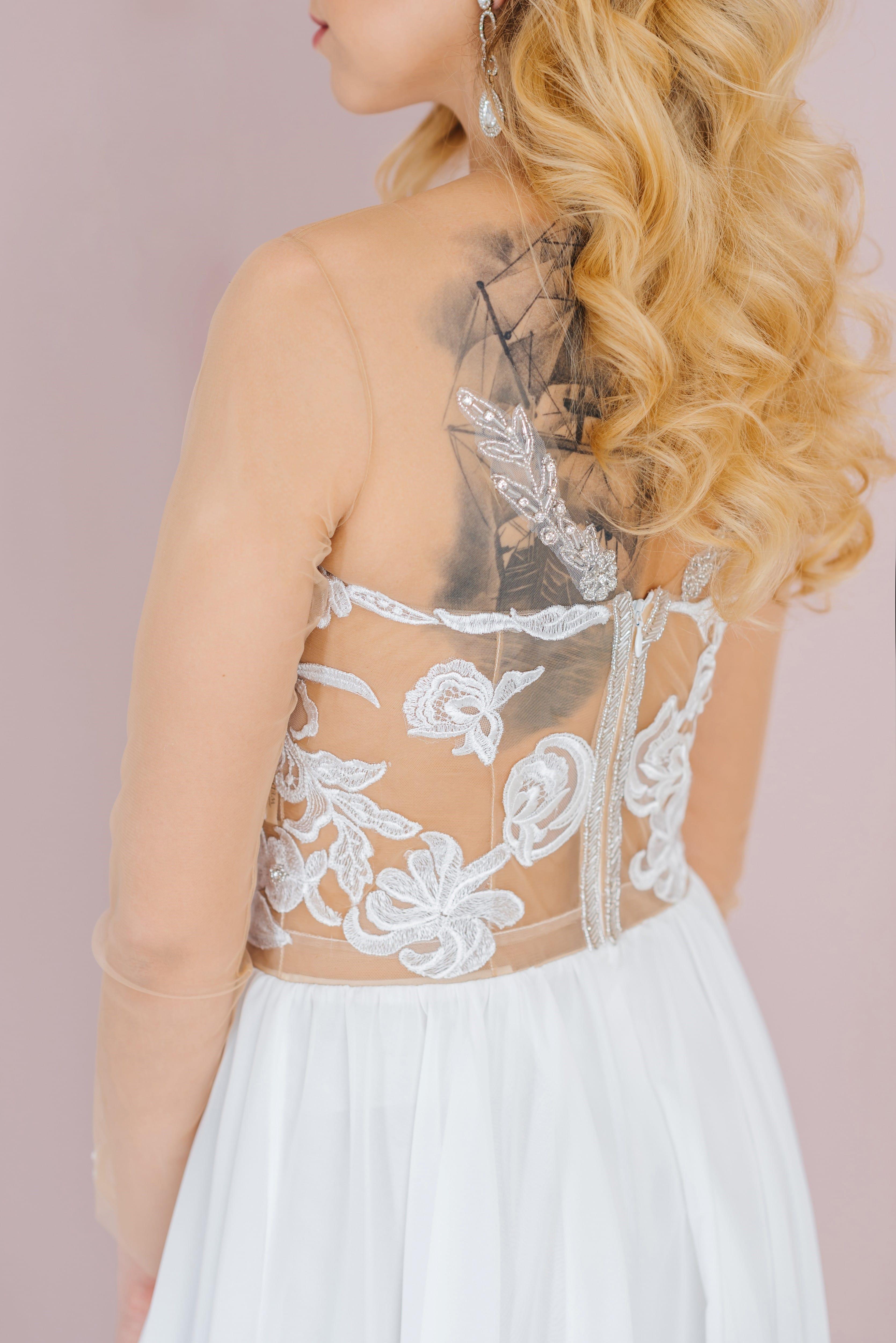 Свадебное платье AVA, коллекция LOFT, бренд RARE BRIDAL, фото 3