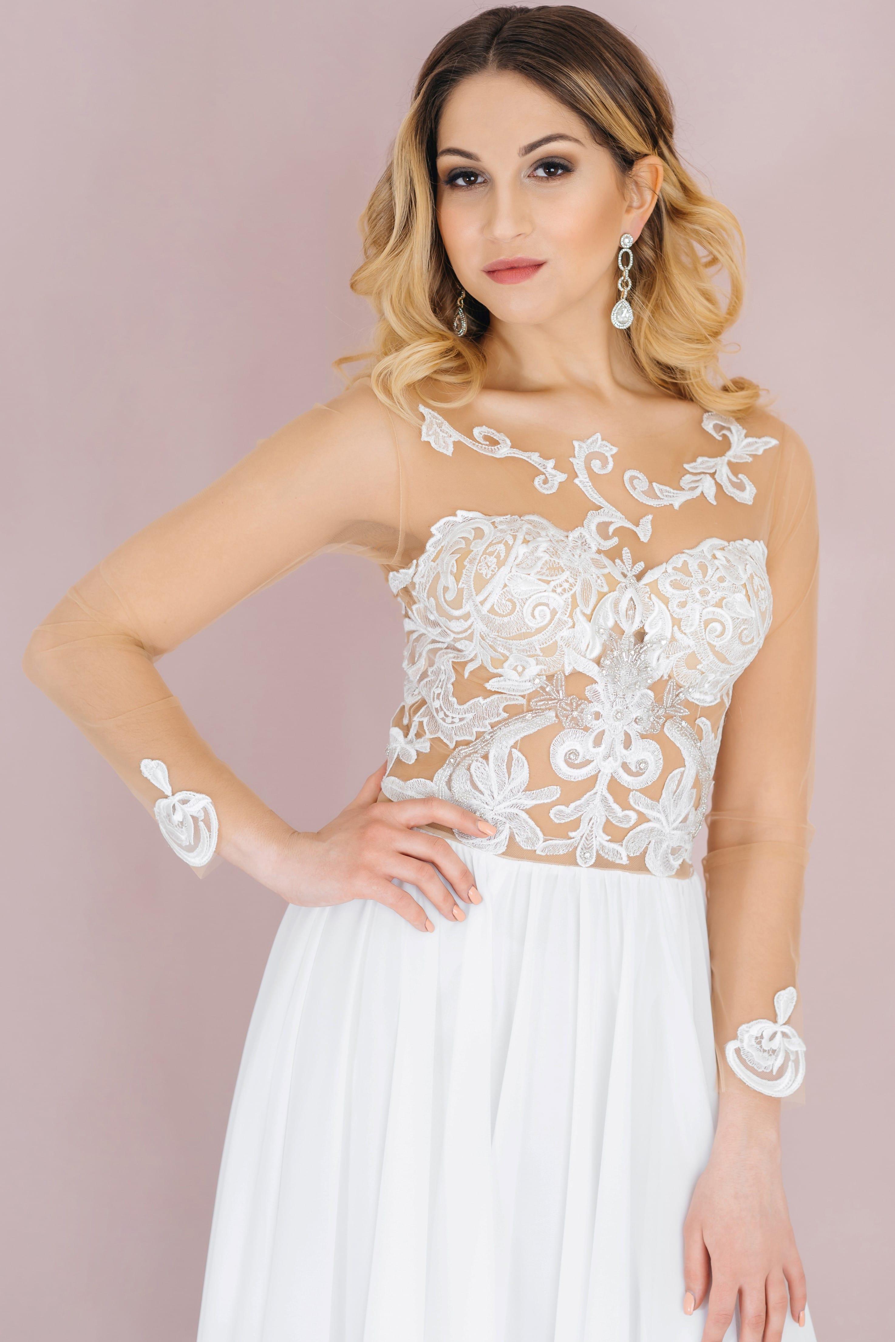 Свадебное платье AVA, коллекция LOFT, бренд RARE BRIDAL, фото 4