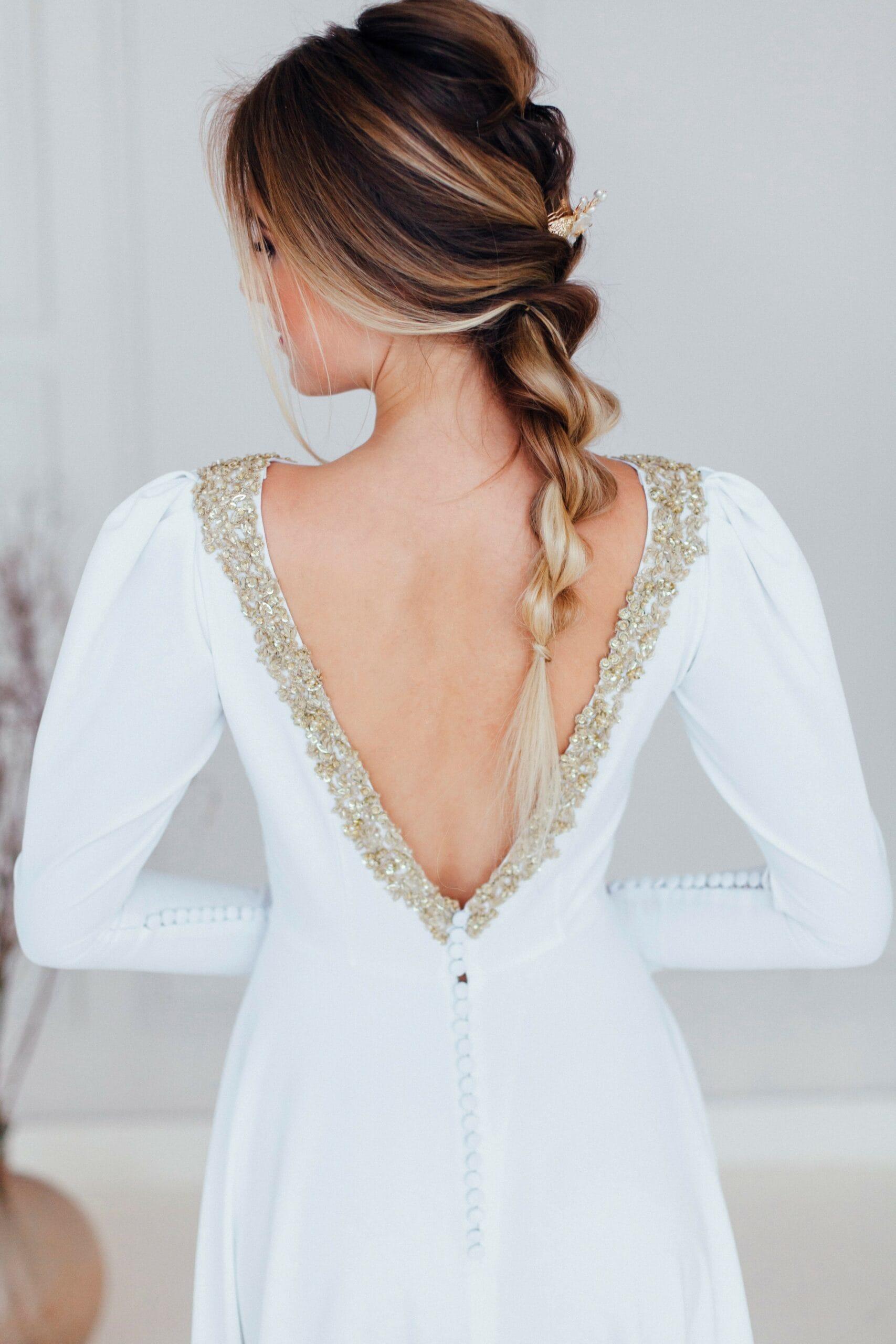 Свадебное платье AZUMI, коллекция REFINED ELEGANCE, бренд OKA NOMO, фото 1
