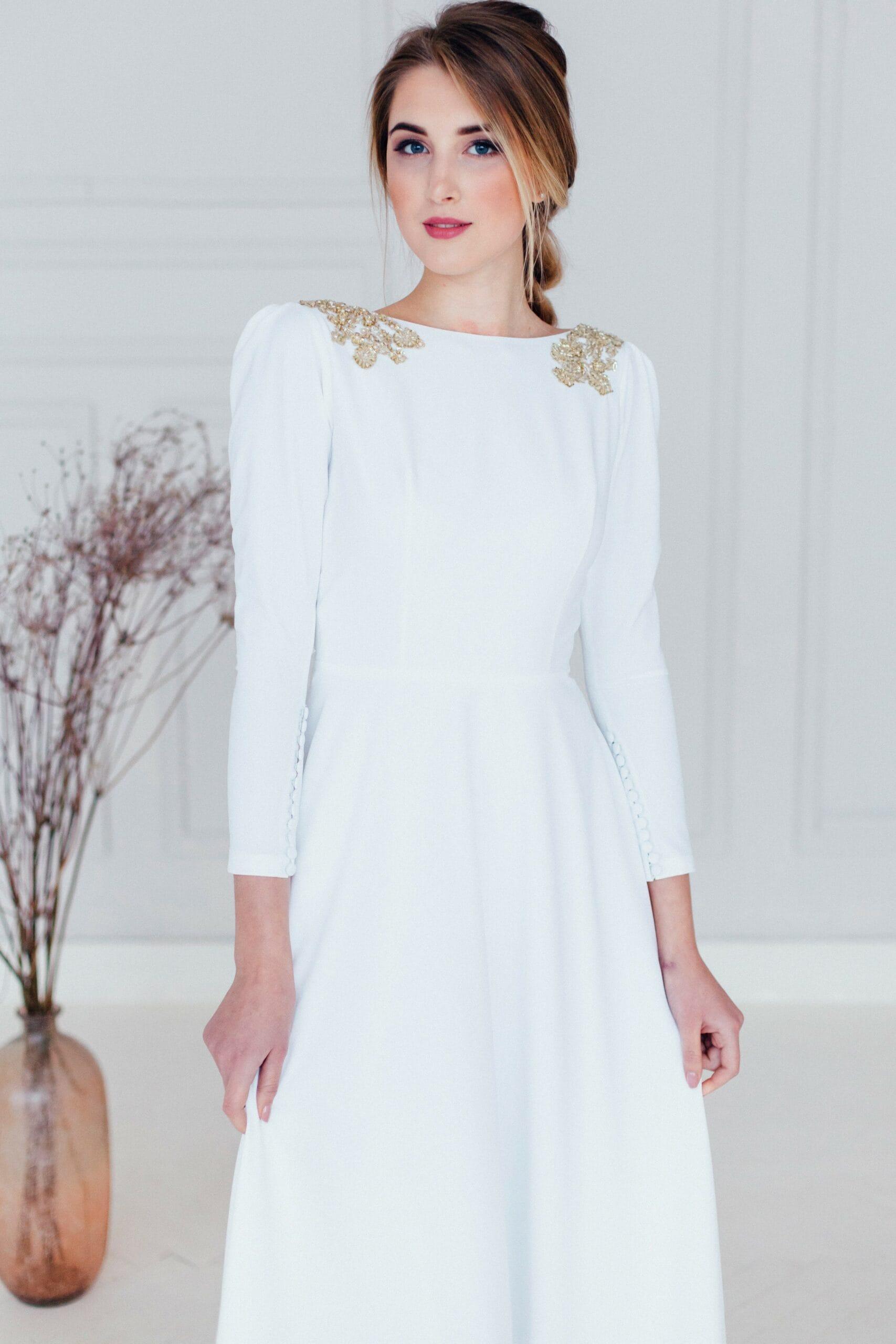 Свадебное платье AZUMI, коллекция REFINED ELEGANCE, бренд OKA NOMO, фото 2