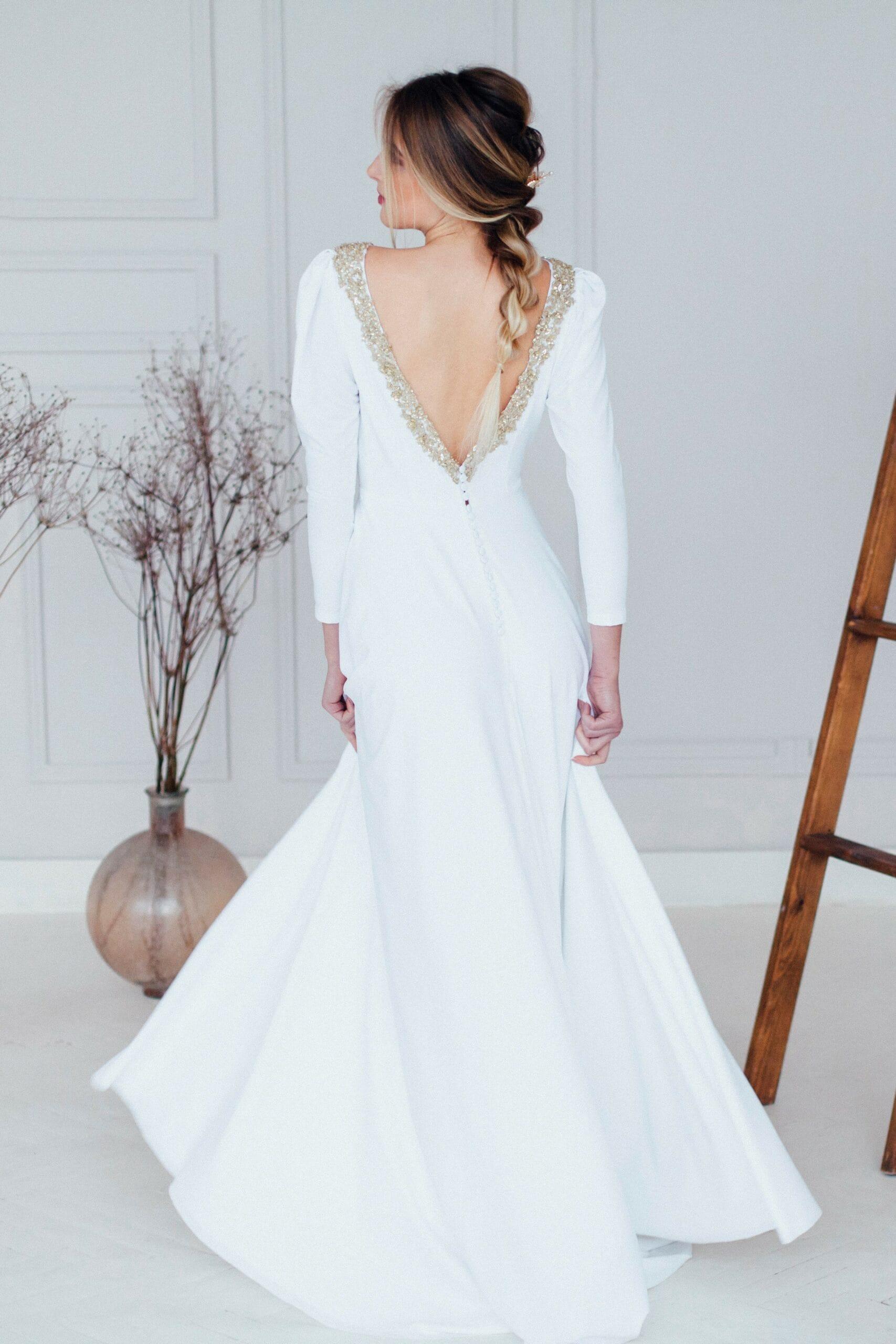 Свадебное платье AZUMI, коллекция REFINED ELEGANCE, бренд OKA NOMO, фото 3