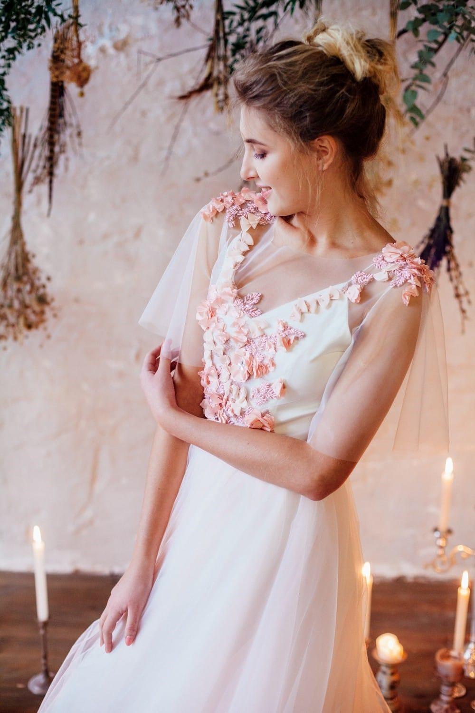 Свадебное платье CAMELIA, коллекция THE LOOK OF ANGEL, бренд RARE BRIDAL, фото 3