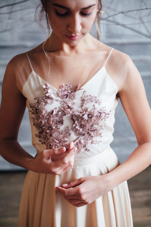 Вечернее платье ENID, коллекция FLOWER MAGIC, бренд RARE BRIDAL, фото 2