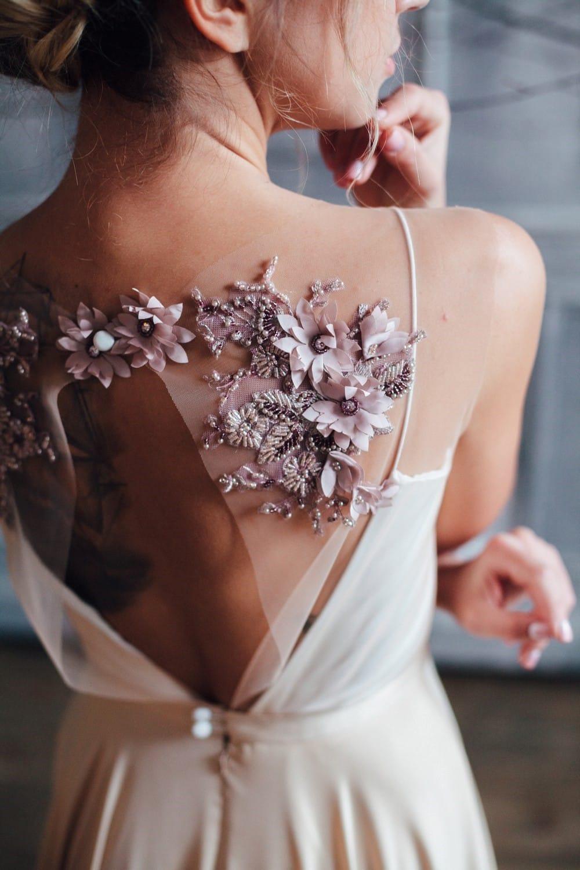Вечернее платье ENID, коллекция FLOWER MAGIC, бренд RARE BRIDAL, фото 3