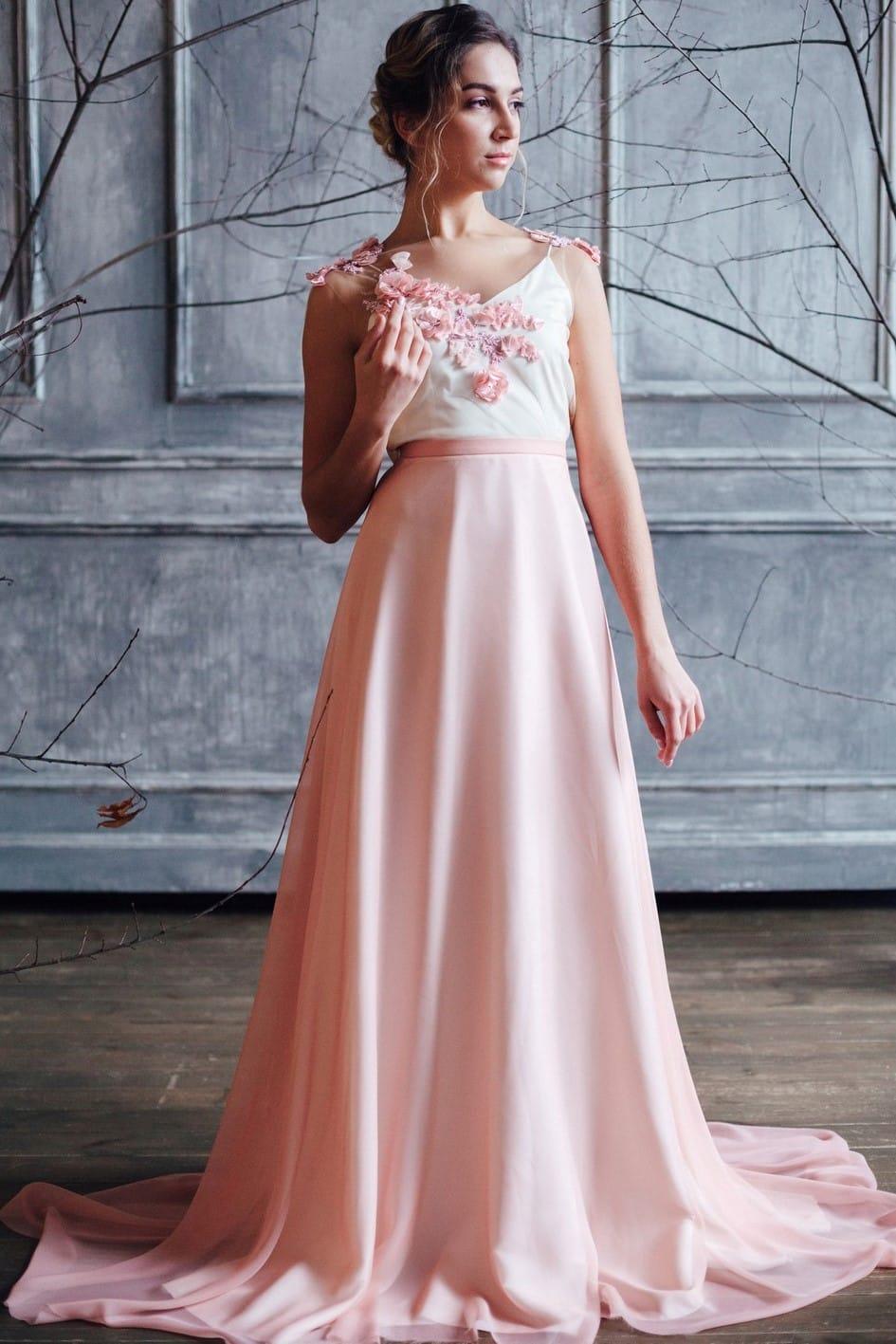 Вечернее платье FARRA, коллекция FLOWER MAGIC, бренд RARE BRIDAL, фото 1