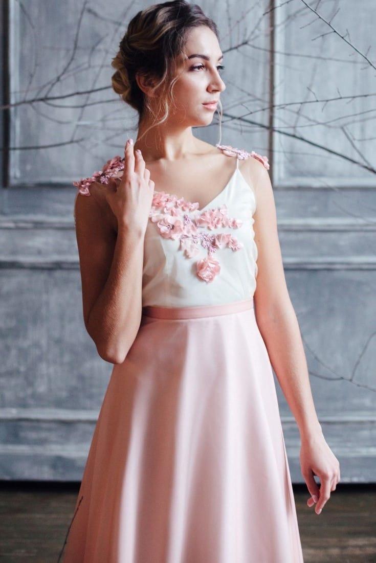 Вечернее платье FARRA, коллекция FLOWER MAGIC, бренд RARE BRIDAL, фото 2