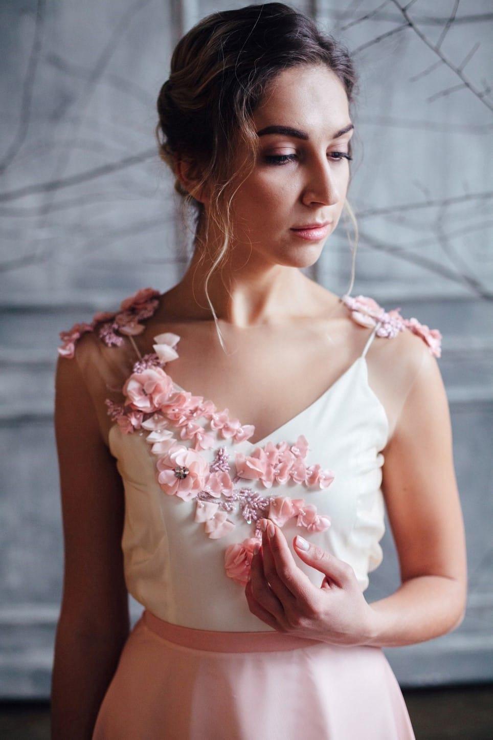 Вечернее платье FARRA, коллекция FLOWER MAGIC, бренд RARE BRIDAL, фото 3