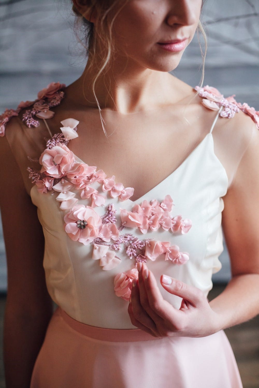 Вечернее платье FARRA, коллекция FLOWER MAGIC, бренд RARE BRIDAL, фото 4