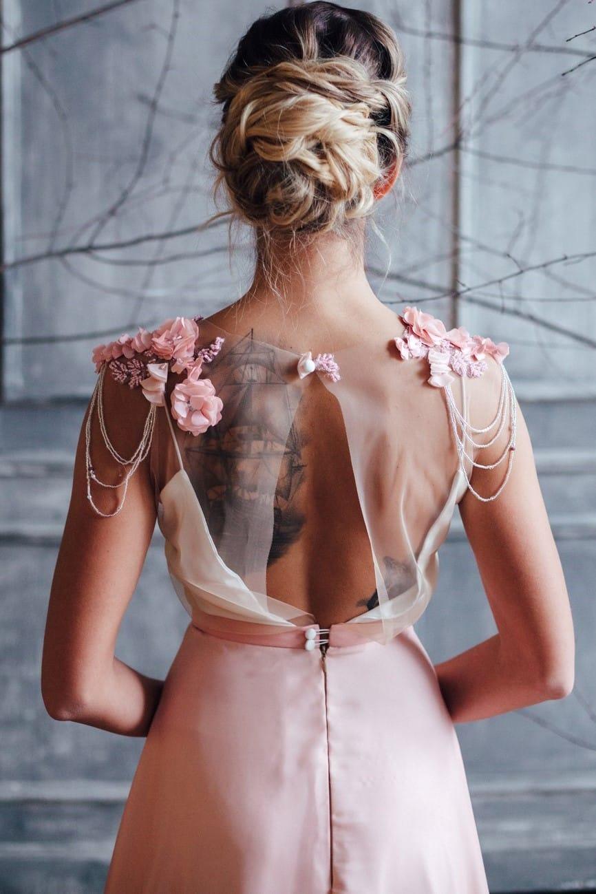 Вечернее платье FARRA, коллекция FLOWER MAGIC, бренд RARE BRIDAL, фото 6