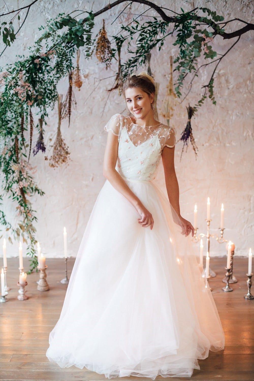 Свадебное платье FLORAMI, коллекция THE LOOK OF ANGEL, бренд RARE BRIDAL, фото 2
