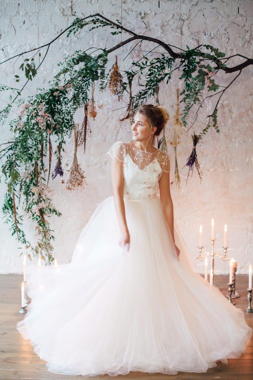 Свадебное платье FLORAMI, коллекция THE LOOK OF ANGEL, бренд RARE BRIDAL, фото 4