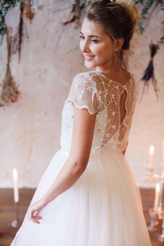 Свадебное платье FLORAMI, коллекция THE LOOK OF ANGEL, бренд RARE BRIDAL, фото 7