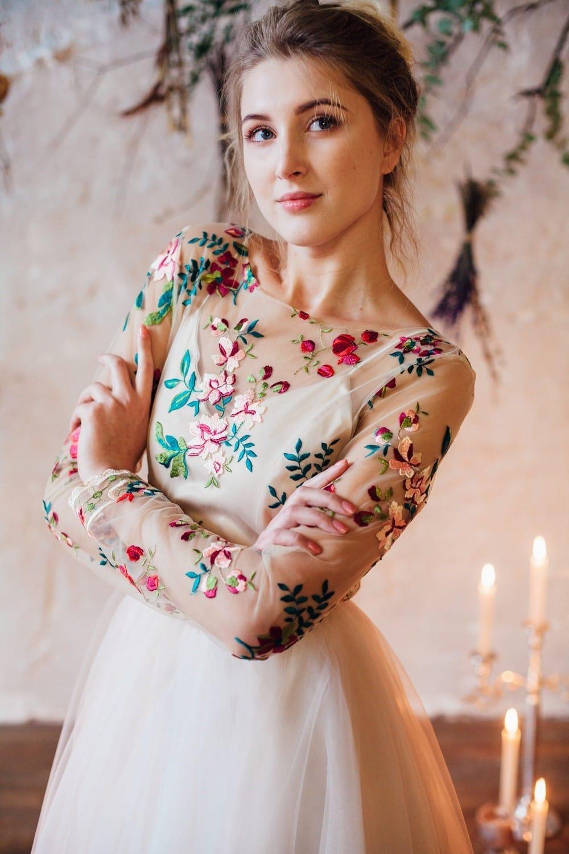 Свадебное платье FLOWER, коллекция THE LOOK OF ANGEL, бренд RARE BRIDAL, фото 1