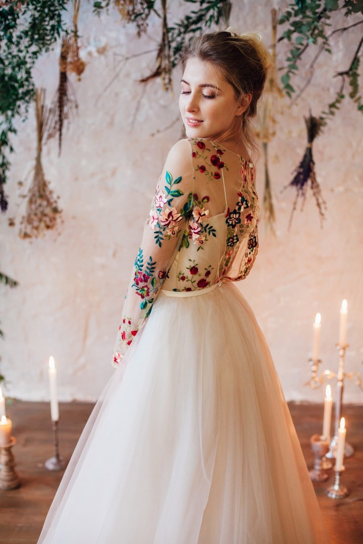 Свадебное платье FLOWER, коллекция THE LOOK OF ANGEL, бренд RARE BRIDAL, фото 5
