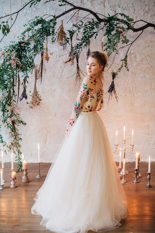 Свадебное платье FLOWER, коллекция THE LOOK OF ANGEL, бренд RARE BRIDAL, фото 6