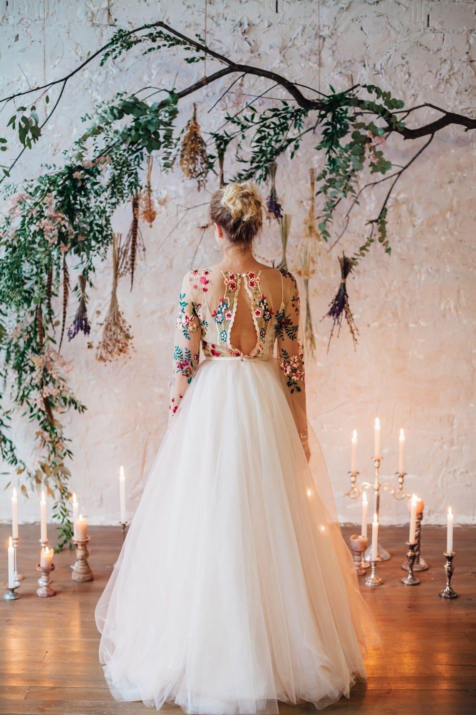 Свадебное платье FLOWER, коллекция THE LOOK OF ANGEL, бренд RARE BRIDAL, фото 7.