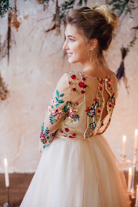 Свадебное платье FLOWER, коллекция THE LOOK OF ANGEL, бренд RARE BRIDAL, фото 8