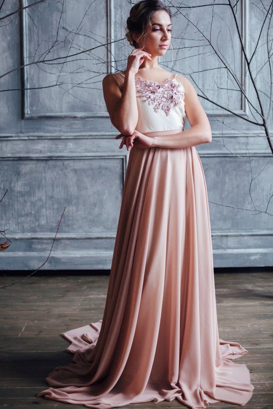 Вечернее платье GRANDY, коллекция FLOWER MAGIC, бренд RARE BRIDAL, фото 1