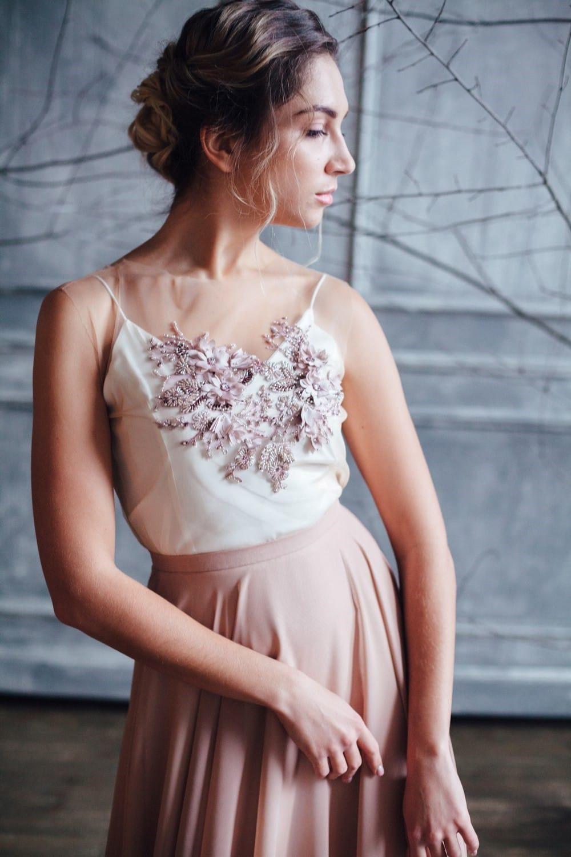 Вечернее платье GRANDY, коллекция FLOWER MAGIC, бренд RARE BRIDAL, фото 2