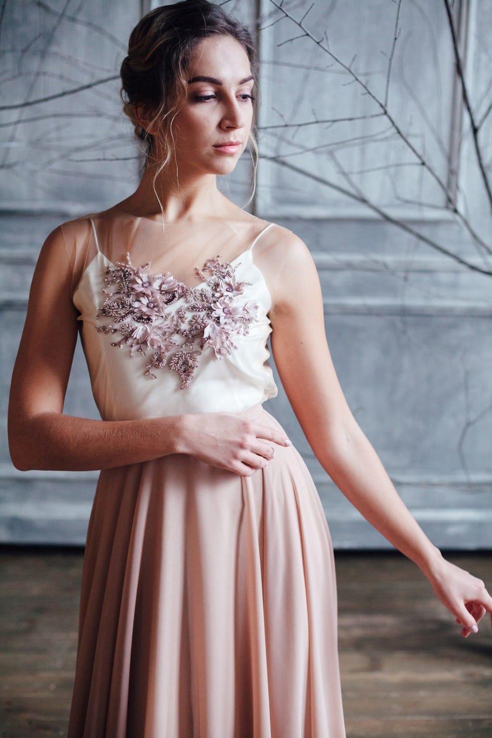 Вечернее платье GRANDY, коллекция FLOWER MAGIC, бренд RARE BRIDAL, фото 3