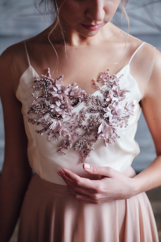 Вечернее платье GRANDY, коллекция FLOWER MAGIC, бренд RARE BRIDAL, фото 4