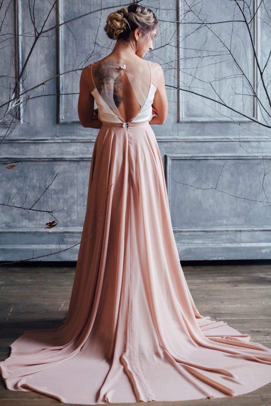 Вечернее платье GRANDY, коллекция FLOWER MAGIC, бренд RARE BRIDAL, фото 5