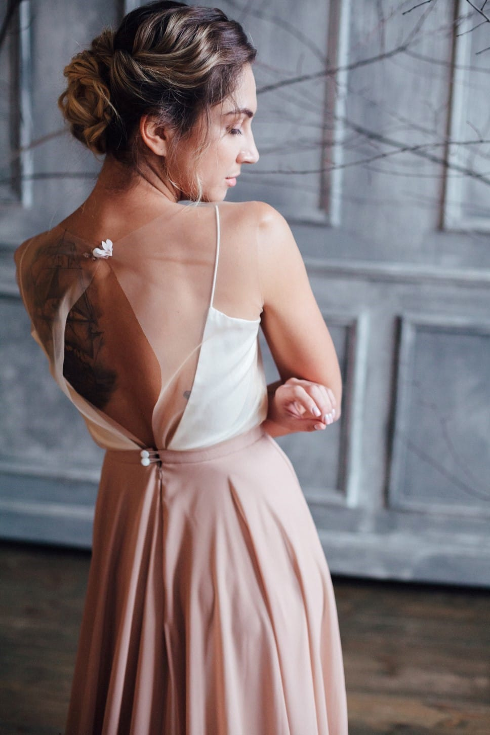 Вечернее платье GRANDY, коллекция FLOWER MAGIC, бренд RARE BRIDAL, фото 7