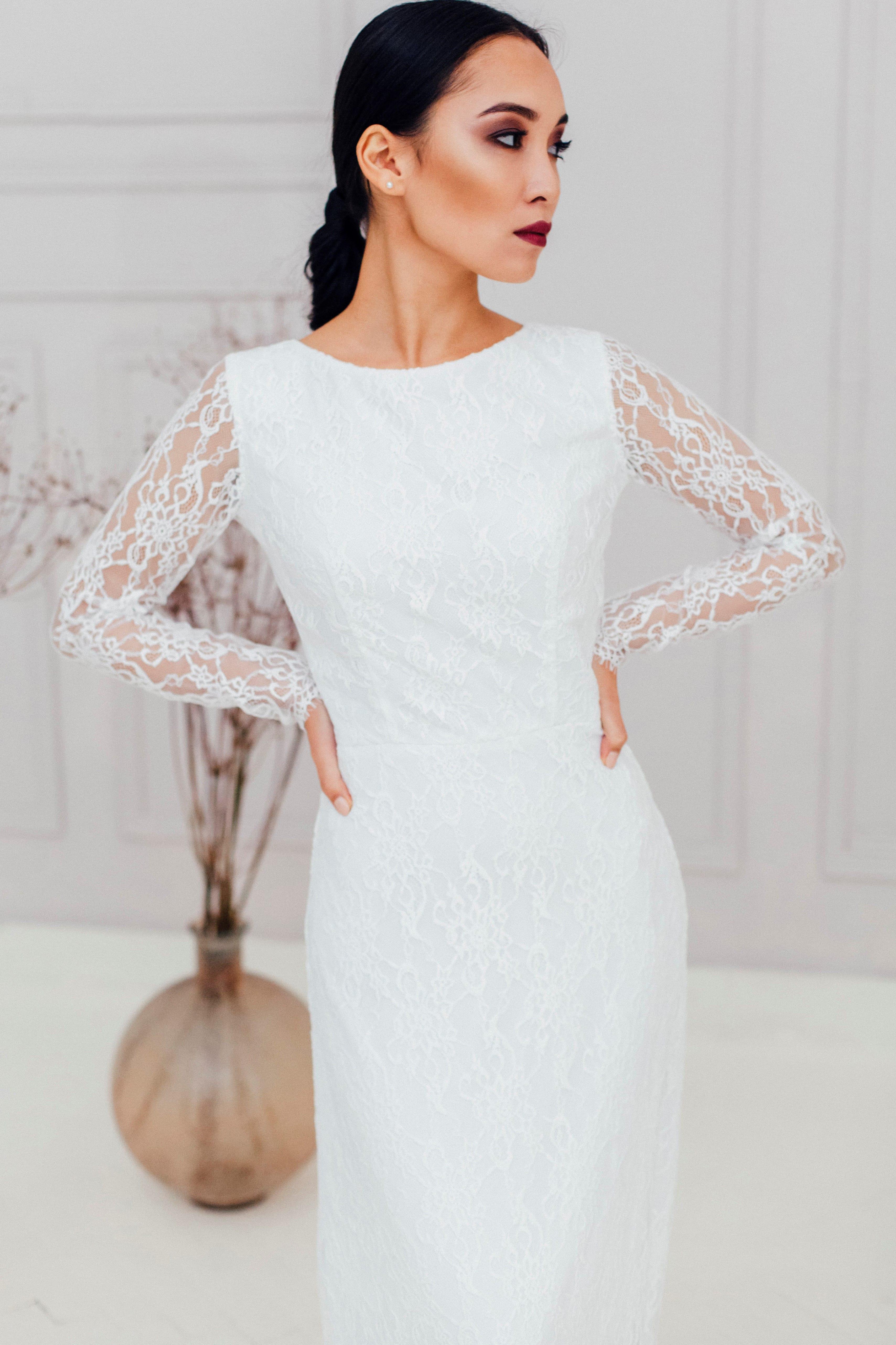 Свадебное платье HANA, коллекция REFINED ELEGANCE, бренд OKA NOMO, фото 1