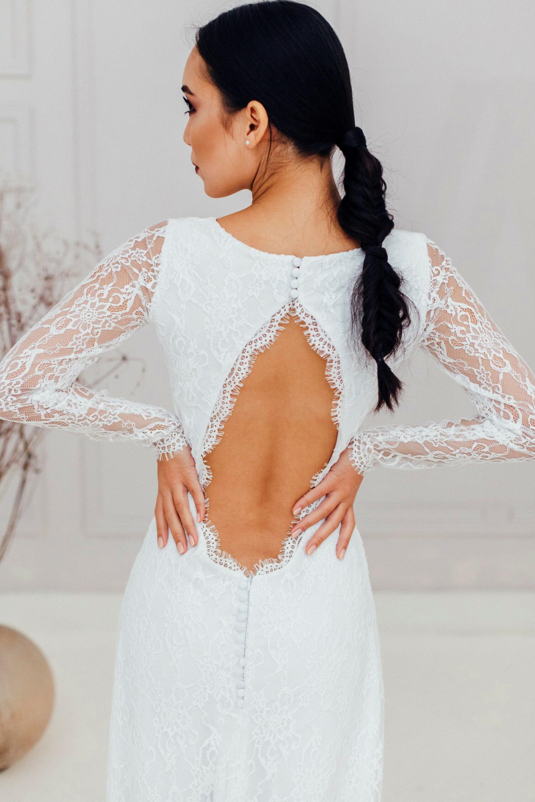 Свадебное платье HANA, коллекция REFINED ELEGANCE, бренд OKA NOMO, фото 2