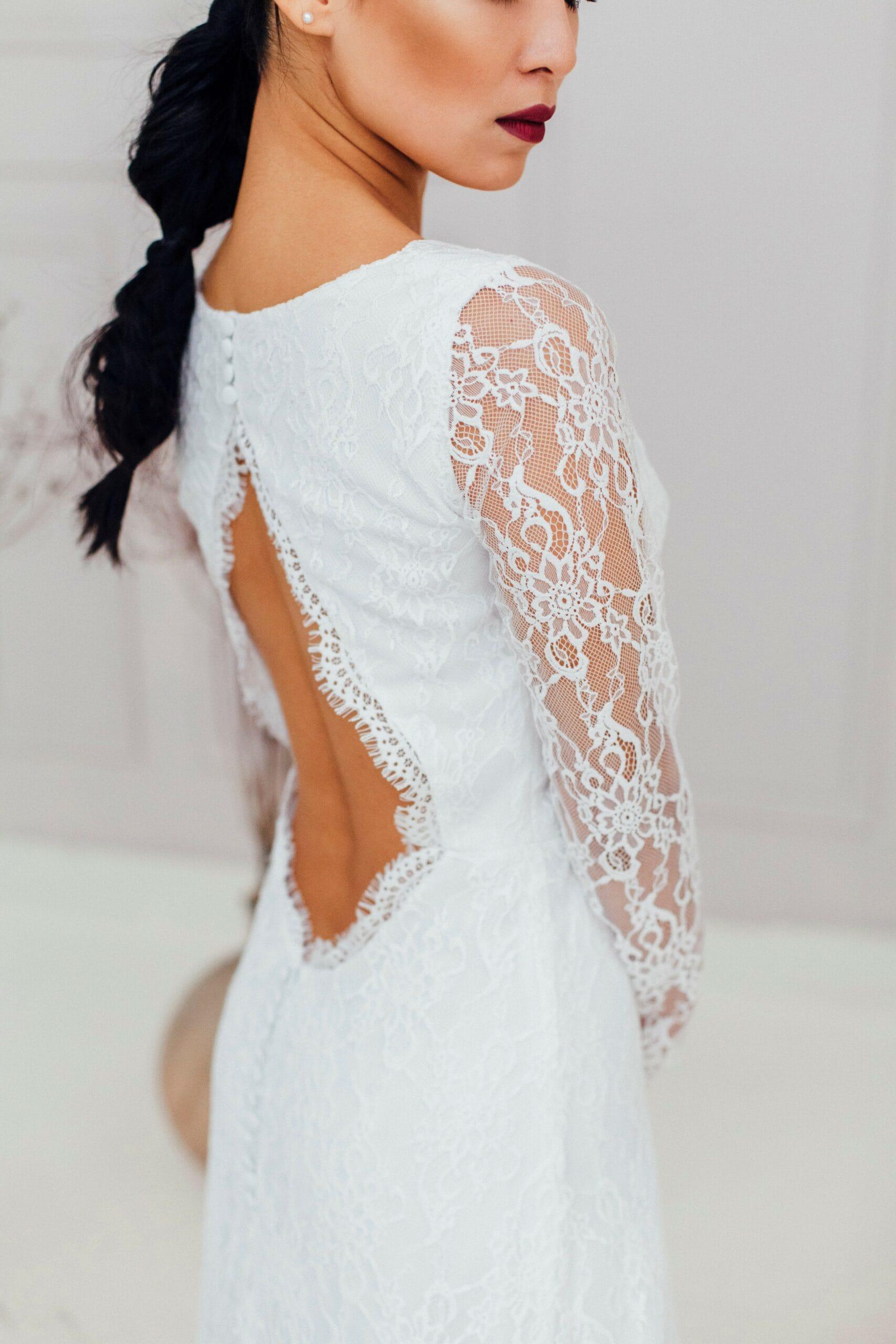 Свадебное платье HANA, коллекция REFINED ELEGANCE, бренд OKA NOMO, фото 3