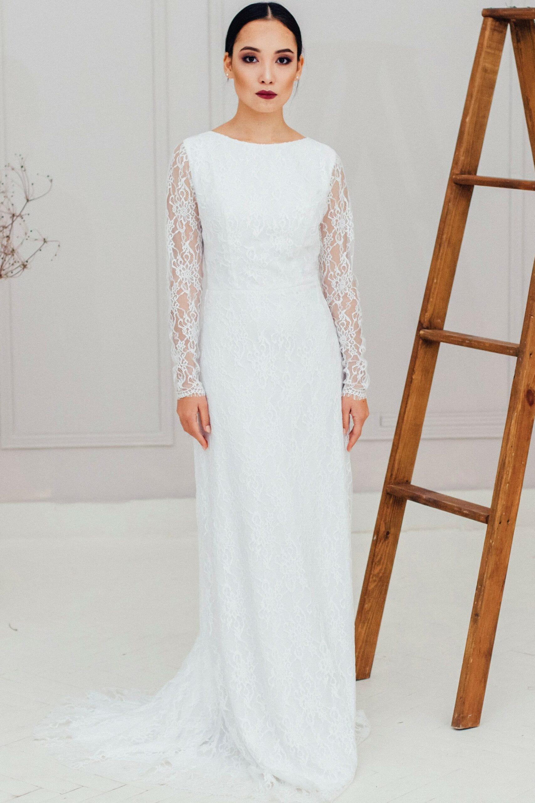 Свадебное платье HANA, коллекция REFINED ELEGANCE, бренд OKA NOMO, фото 4